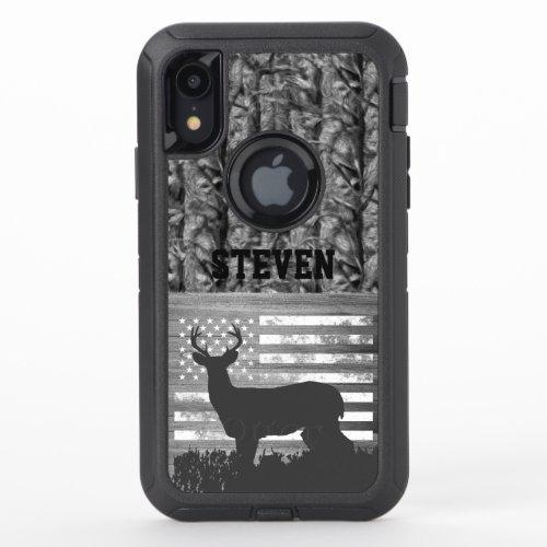 Camo Deer Hunting Name Men Sports Buck America  Phone Case