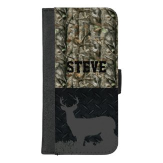 Camo Deer Hunting Personalized Wallet Case