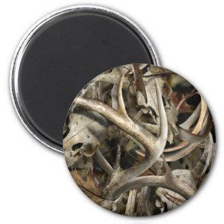 Camo Deer Skulls Magnet