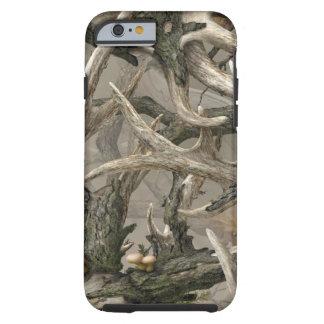Camo del cráneo de los ciervos de la selva virgen funda para iPhone 6 tough