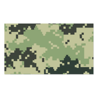 Camo Double-Sided Standard Business Cards (Pack Of 100)