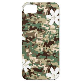 Camo Flower iPhone SE/5/5s Case