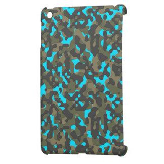 camo fluorine blue iPad mini case