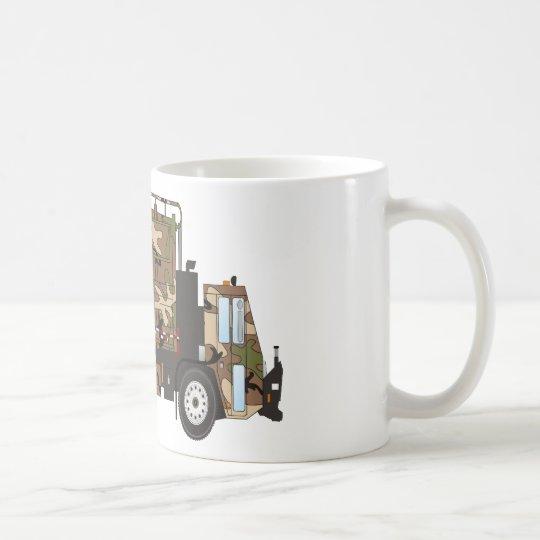 Camo Garbage Truck Military Coffee Mug