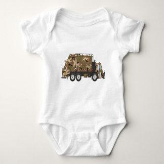 Camo Garbage Truck Military T-shirt