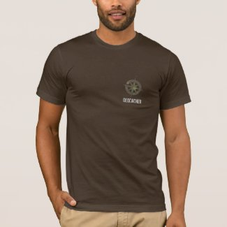 Camo Geocaching logoed Shirt