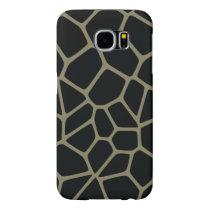 Camo Giraffe Pattern Samsung Galaxy S6 Case