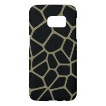 Camo Giraffe Pattern Samsung Galaxy S7 Case