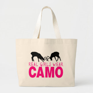 CAMO GIRL TOTE BAGS