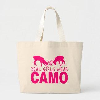 CAMO GIRL TOTE BAG