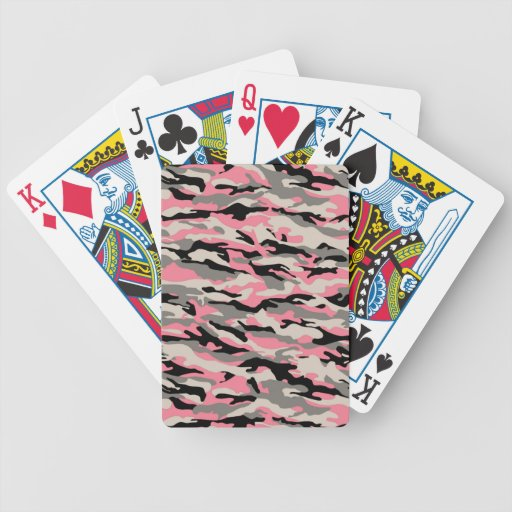 CAMO GIRL BICYCLE PLAYING CARDS