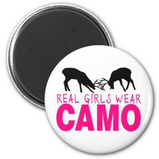 CAMO GIRL MAGNET
