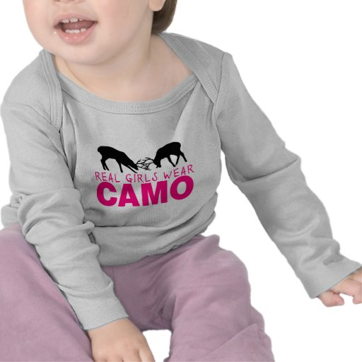CAMO GIRL T SHIRTS