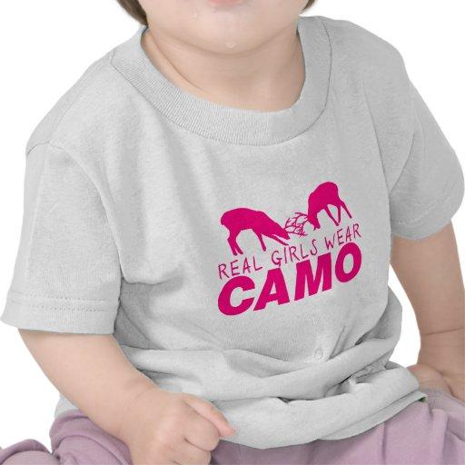 CAMO GIRL TEE SHIRTS