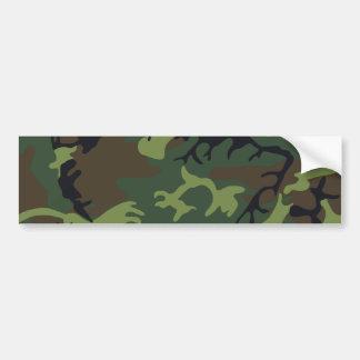 [CAMO-GR-1] Camo verde y marrón Pegatina Para Auto
