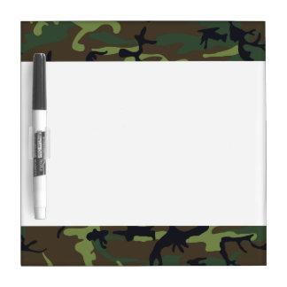 [CAMO-GR-1] Camo verde y marrón Tablero Blanco