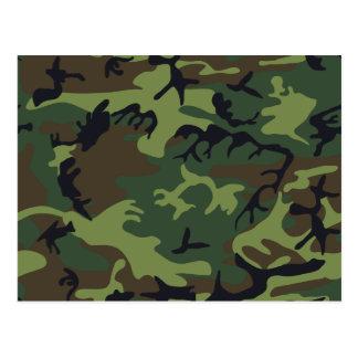 [CAMO-GR-1] Camo verde y marrón Postales