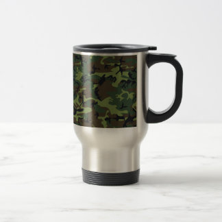 [CAMO-GR-1] Green and brown camo Coffee Mugs