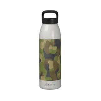 Camo Greens & Browns Drinking Bottles