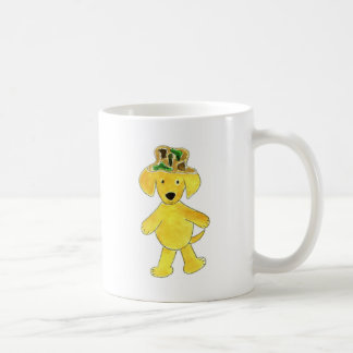 Camo Hat Yellow Lab Coffee Mug