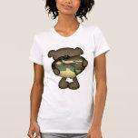 Camo Heart Military Teddy Bear T-shirts