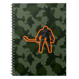 Camo Hockey Notebook