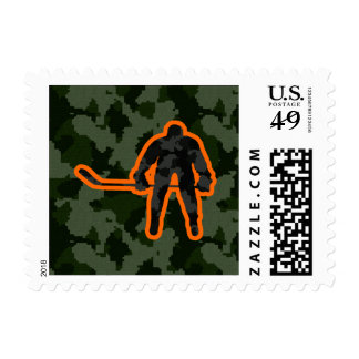 Camo Hockey Stamps