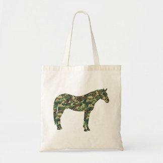 Camo Horse Tote