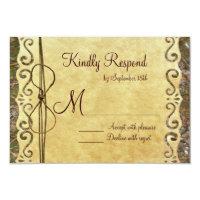 Camo Hunting Vintage Paper Wedding RSVP Cards Custom Announcements (<em>$2.17</em>)