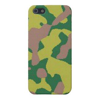 Camo IPhone Hard Case iPhone 5 Cases