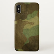 Camo iPhone X Case