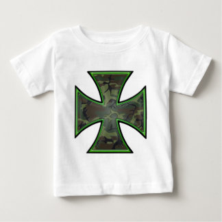 Camo Iron Cross Baby T-Shirt