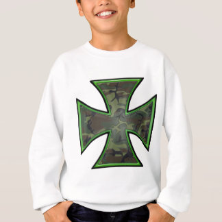 Camo Iron Cross Sweatshirt
