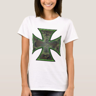 Camo Iron Cross T-Shirt