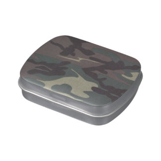 Camo Jelly Belly™ Candy Tin