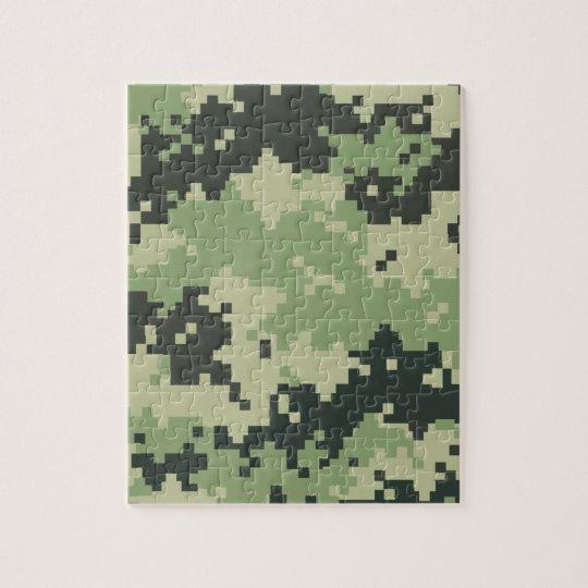Camo Jigsaw Puzzle