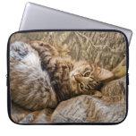 CAMO KITTY CAT COMPUTER SLEEVE