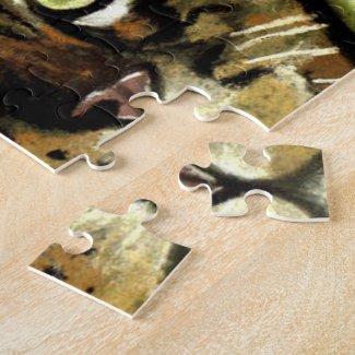 Camo Kitty Puzzle