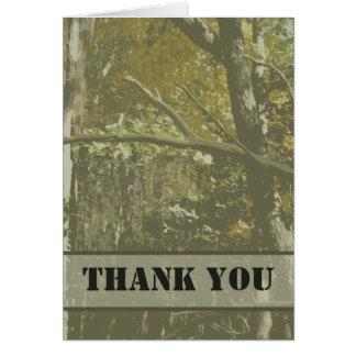 Camo le agradece tarjeta de nota