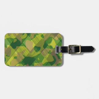 Camo Leaves Camouflage Pattern Gifts Luggage Tag