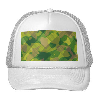 Camo Leaves Camouflage Pattern Gifts Trucker Hat