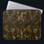 "Camo Lover Petal Design Computer Sleeve<br><div class=""desc"">Layered petal design using camo colors of brown,  black and green. I have several colorful versions of this petal design on other products.</div>"