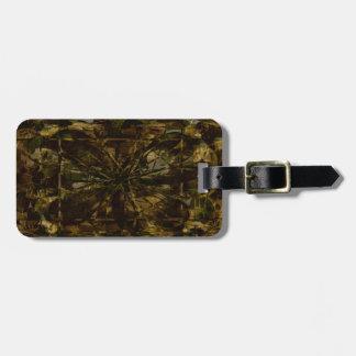 Camo Lover Petal Design-Luggage Tag Tag For Luggage