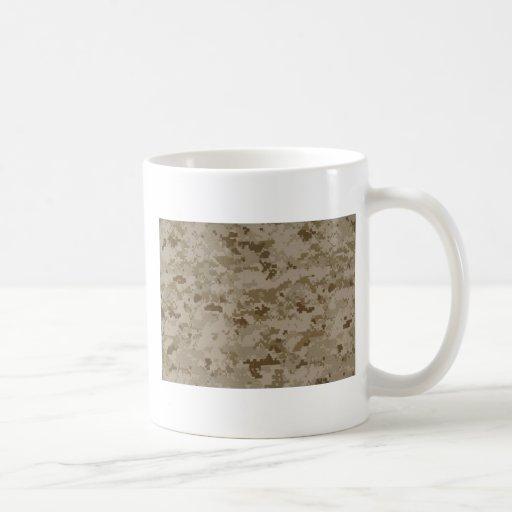 Camo marino taza de café