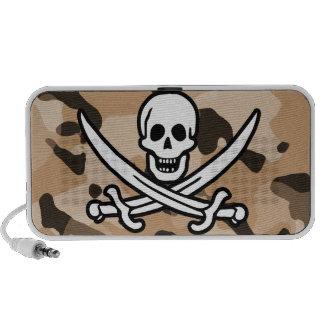 Camo marrón claro Pirata alegre de Rogelio Altavoz
