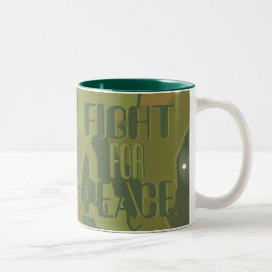 Camo Militant Pacifists for Peace Mug