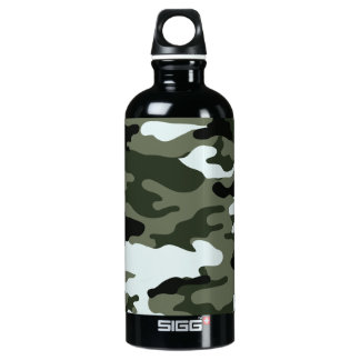 Camo Military Liberty Bottleworks Aluminum Water Bottle