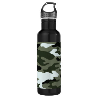 Camo Military Liberty Bottleworks Water Bottle