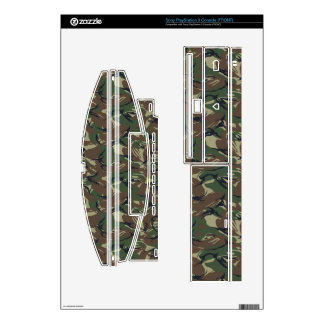 camo military pattern Vinyl Skins Skins For The PS3