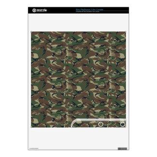 camo military pattern Vinyl Skins Skin For PS3 Slim